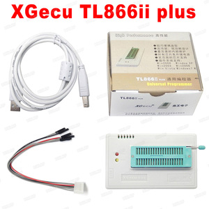 Image 1 - V9.00 XGecu 100% orijinal TL866ii Plus EEPROM programcı daha iyi thanTL866CS Bios Nand programcı PIC AVR 24 93 25 MCU Bios EPROM