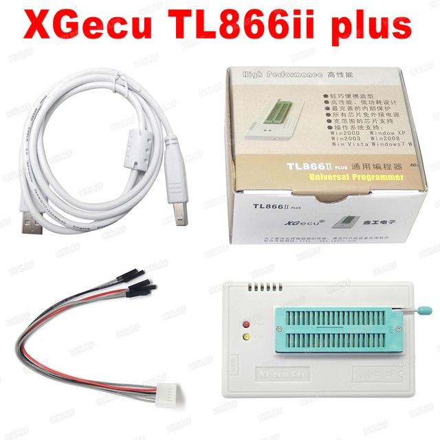 V9.00 XGecu 100% orijinal TL866ii Plus EEPROM programcı daha iyi thanTL866CS Bios Nand programcı PIC AVR 24 93 25 MCU Bios EPROM