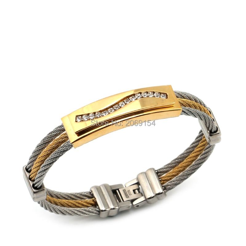 Купить ювелирные изделия из титановой стали энергетический браслет