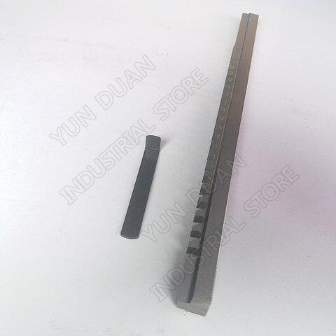 Push tipo Hss Ferramenta de Corte para Cnc Aço de Alta Keyway Broach Polegadas c Velocidade Broaching Máquina Metalurgia 5 – 16