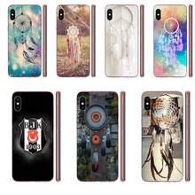 Filtro dos sonhos apanhador de sonhos para apple iphone 11 pro x xs max xr 4 4S 5 5c 5S se se2 6 s 7 8 plus capa macia transparente
