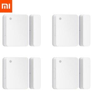 Image 1 - Оригинальный Xiaomi Mijia датчик двери окна умный Mi датчик двери Умный дом WiFi Android IOS APP контроль датчик безопасности