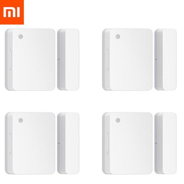 Оригинальный Xiaomi Mijia датчик двери окна умный Mi датчик двери Умный дом WiFi Android IOS APP контроль датчик безопасности