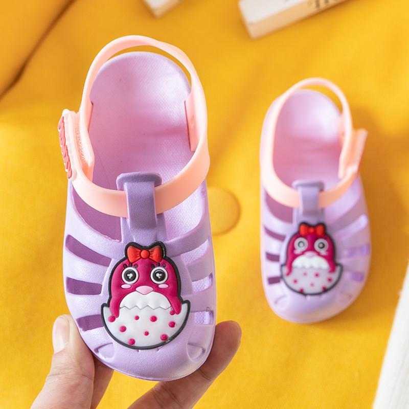Unicorn toddler summer jelly girls sandals infant cartoon baby princess kids shoes children sandals breathable pvc flats sandal new