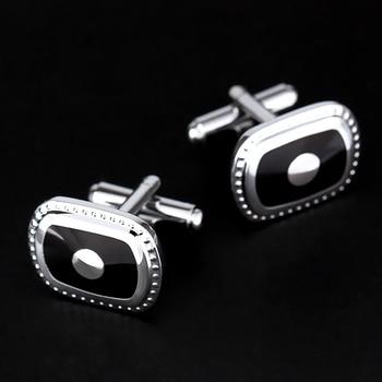 Silver Plated Men's Cufflinks 3