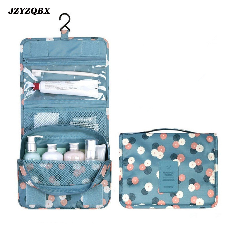 Woman Travel Cosmetic Storage Bag Makeup Zipper Female Waterproof kosmetyczka neceser