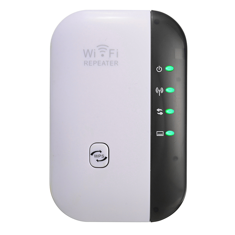 High Quality WiFi Amplifier Repeater 300Mbps Signal Extender Expander Booster WPS Button For Wireless-N AP Range 802.11 Network