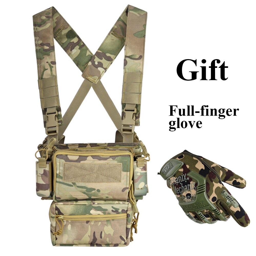 Gilet tactique armée poitrine plate-forme transporteur armure X harnais fusil pistolet Magazine poche CRX équipement de chasse accessoires Chestrigs