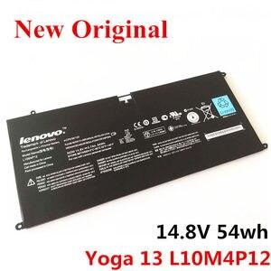 Nova substituição Bateria Li-ion Bateria Do Laptop Original para LENOVO U300S U300 L10M4P12 Yoga 13 14.8v 54wh