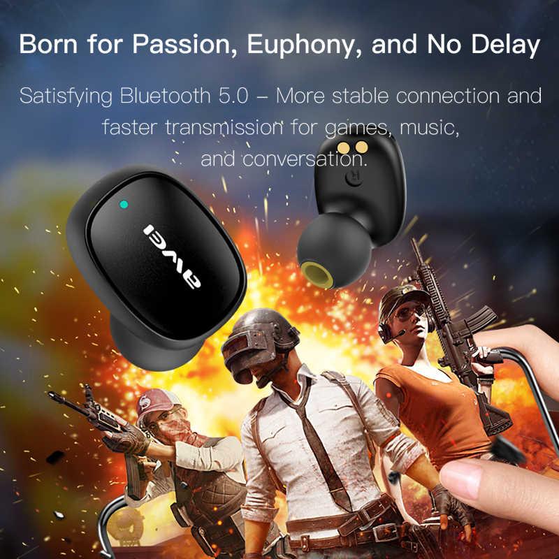 Newset Wei T13 TWS auriculares inalámbricos Bluetooth auriculares deportivos manos libres auriculares con micrófono HD estéreo para Xiaomi