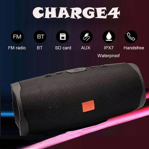 Bluetooth Speaker Soundbox Diaphragm-Stereo Charge4-Bass Subwoofer Portable Mobile-Power