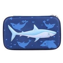 Пенал мешок рыбы ручка сумка Estojo Эсколар Estuches Piornik Szkolny мальчик Каваи Trousse школьников стило Cartucheras Lapices