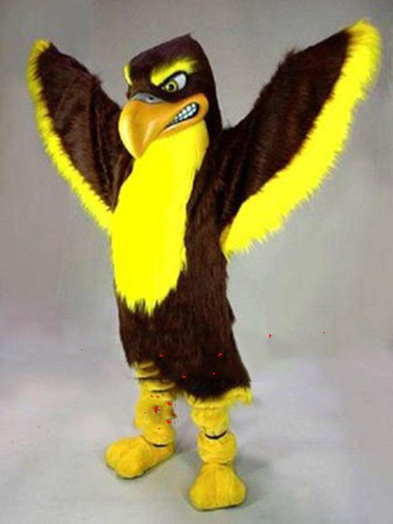 Aigle mascotte Costume costumes Cosplay partie jeu fantaisie robe tenues publicité Promotion carnaval Fursuit noël pâques adultes taille