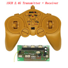 Receiver-Board Transmitter Parts Remote-Control Huina for 350/550 50m Wireless 3V 15CH