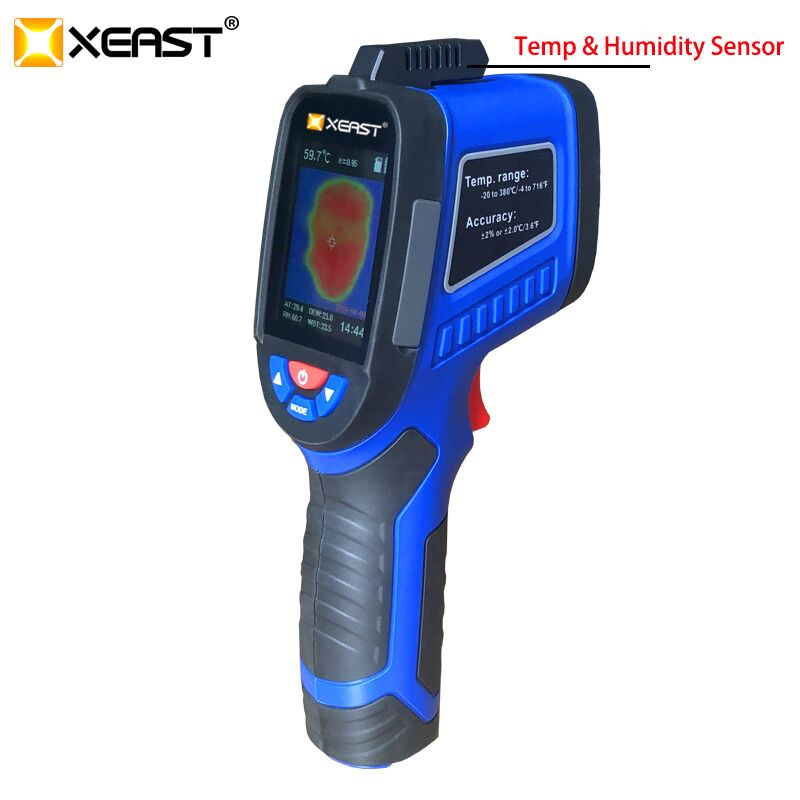 XEAST HT-19/XE-26 220x160 High-Resolution Infrared Thermal Imager with USB Interface and Built-in 4GB SD Card 7