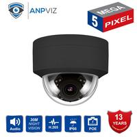 Compatible Hikvision 5MP IP POE Camera Outdoor/Indoor H.265 Dome Security CCTV Network Camera Wide Angle 2.8mm 30M IR ONVIF
