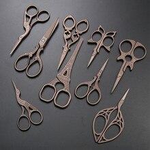Ponto cruz retro vintage tesoura antigo alfaiate scissor bordado e tesoura de costura tesoura costura tesoura de corte de tecido tesoura