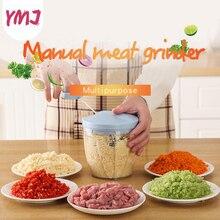 Juicers Blender Mincer-Mixer Chopper Vegetable-Nut Food-Processors Hand-Power Manual