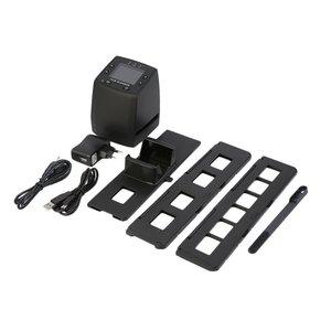 High Resolution Film Scanner Digital Converts USB Negatives Slides Photo Scan Portable Digital Film Converter 2.4 Inch LCD