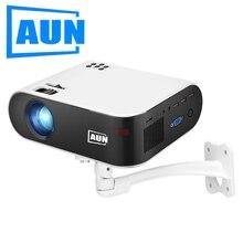 AUN orijinal braketi 360 açı ayarlanabilir tutucu projektör, desteği tavan montajı, duvar asılı