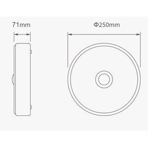 Image 3 - [HOT] Mijia Yeeligh t Sensor Led ceiling Mini Human Body / motion Sensor light mini smart motion night Mi light For home