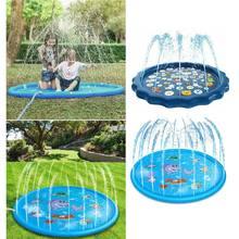 Летняя наружная подушка для распыления воды ПВХ надувные игрушки
