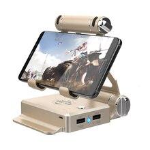 מקורי GameSir X1 BattleDock מקלדת עכבר ממיר Bluetooth Gamepad עבור FPS נייד משחק כמו PUBG COD AOV FreeFire