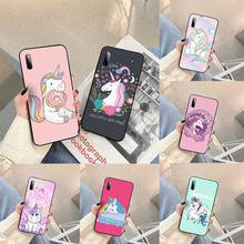 Rainbow Lovely Unicorn Phone Case For Samsung S note S10E 6 7 8 9 10 20 plus edge lite Cover Fundas Coque