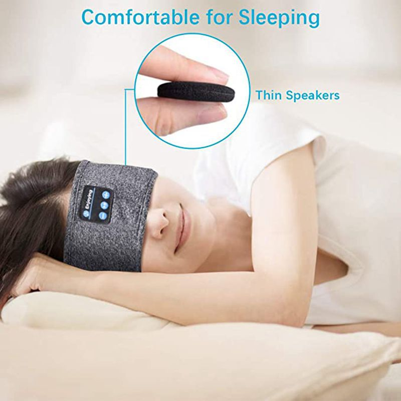 fone de ouvido máscara para o lado do sono