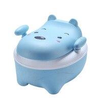 BabyCartoon Cute Pot Bowl Training Pan Toilet Seat Children's Pot Kids Bedpan Portable Urinal Comfortable Backrest Potty Toilet