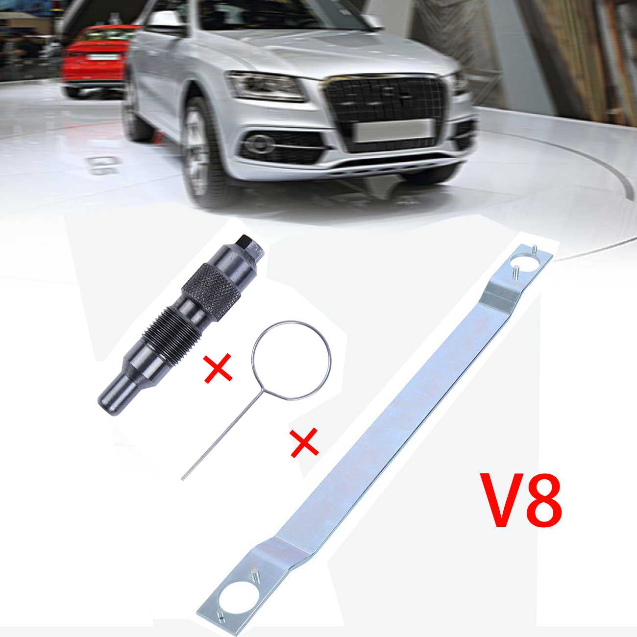 Samger Engine Camshaft Alignment Timing Tool Timing Belt Fxing Tool For VW Touareg Phaeton 3.7 4.2 For Audi A6 A8 S6