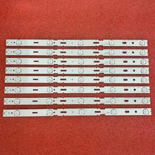Kit de tira de LED para iluminación trasera para TV, 8 Uds., 5LED, 428mm, 40VLE6520BL, SAMSUNG_2013ARC40_3228N1, 40 LB M520, 40VLE4421BF