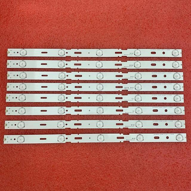 New Kit 8 PCS 5LED 428mm LED Backlight strip for TV 40VLE6520BL SAMSUNG_2013ARC40_3228N1 40 LB M520 40VLE4421BF