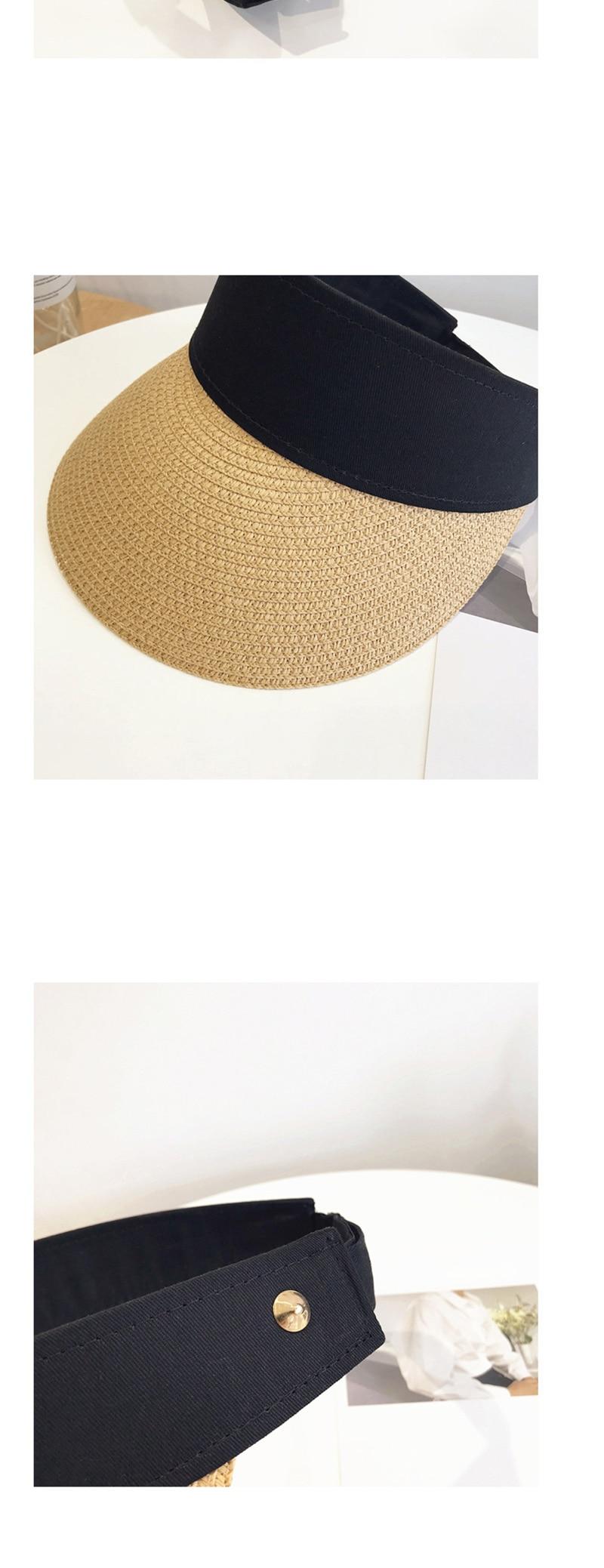 成人帽-帽子女夏天休闲百搭出游防紫外线韩版夏季可折叠防晒太阳帽遮阳帽-成人帽尽在._10
