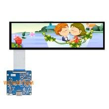 Wisecoco pantalla LCD para coche, tablero de Control de alto brillo, con barra estirada, HSD088IPW1 A00 ultraancha, IPS, MIPI