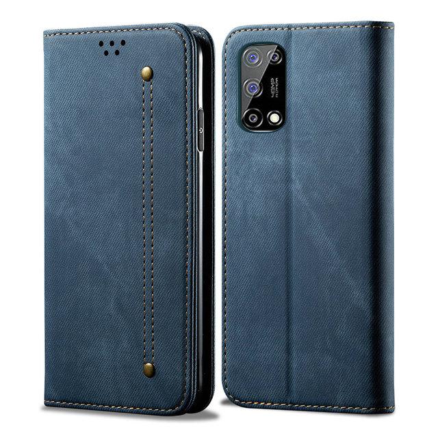 Realme 7 5G Realme 8 Pro 6 C21 C25 C11 C15 C 21 15 Leather Flip Cover for OPPO Find X3 Lite X2 Neo C3 7i 6s 6i Wallet Case Funda 1