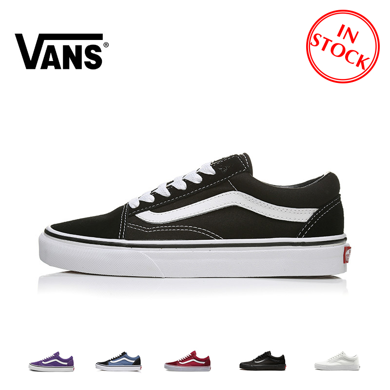 VANS OLD SKOOL Men And Women Skateboard Shoes Multicolor Outdoor Sports Classic Comfort Trend VN000D3HY28