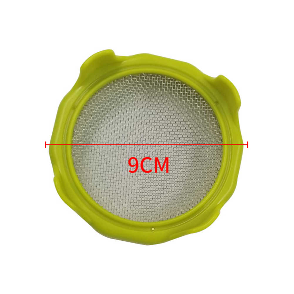 Germination Cover Filter Mason Can Lid Sprouting Net Cover Bean Sprouts Filter Filter Mason Can Lid Sprouting Net Cover Bean Sprouts Filter Strainer Kit