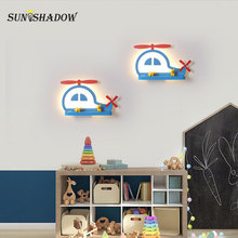 Cartoon lamp Sonces Wall Lamp 12W Decoratin Modern Led Light For Bedroom Living room Bedside Children lights Corridor