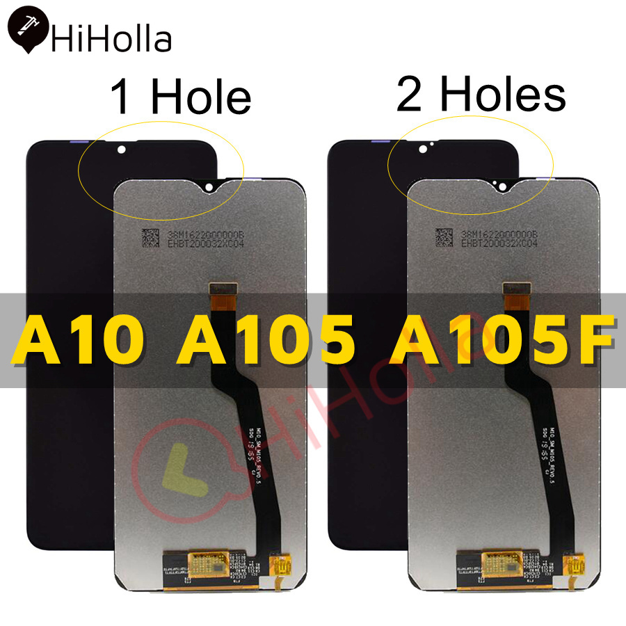 For SAMSUNG GALAXY A10 A105 A105F LCD Display Touch Screen Digitizer Assembly Replacement For SAMSUNG A10 LCD Screen image