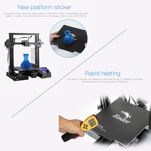 Image 4 - CREALITY 3D Ender 3 Pro Printer Printing Masks Magnetic Build Plate Resume Power Failure Printing KIT Mean Well Power Supply