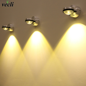 Up down wall lamp led modern indoor hotel decoration light living room bedroom bedside TV background picture lamp wall aisle bra modern rotary bedroom living room aisle hotel corridor wall lamp round led light bra bedside wall light lampara 10w wall sconce
