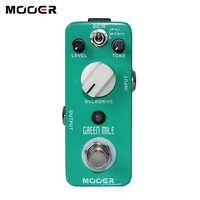 Mooer Grün Meile Mini Overdrive Gitarre Effekt Pedal Micro Elektrische Gitarre Pedal True Bypass Gitarre Teile & Zubehör
