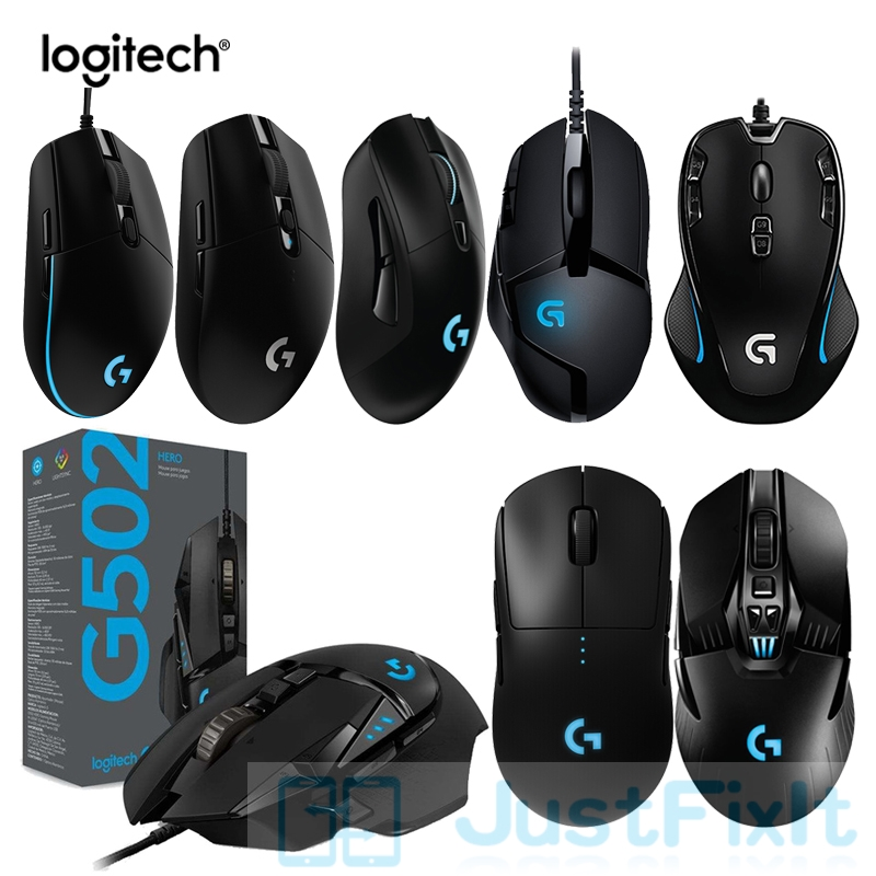 Logitech GPRO G502 G903 G703 G304 Wireless Gaming Mouse  HERO G402 G300S G102 Mouse Support Desktop Laptop Overwatch LOL