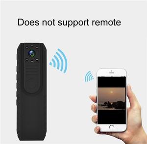 Image 3 - 1.5 calowy ekran bezprzewodowa kamera WiFi Night Vision Mini DV z Novatek 96650 ciała policja kieszonkowy aparat Loop Recorder Mini DVR