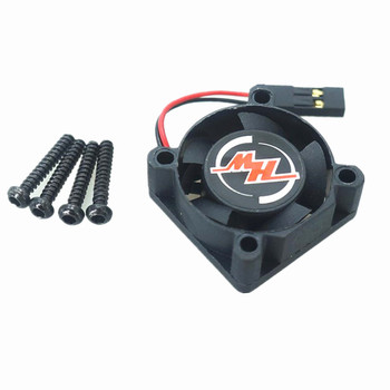 FAN-2510BH-5V Application of ESC Electric Regulation Cooling Fan for Hotel Haoying RC Car XERUN-120A-V3.1 Remote Control Car image