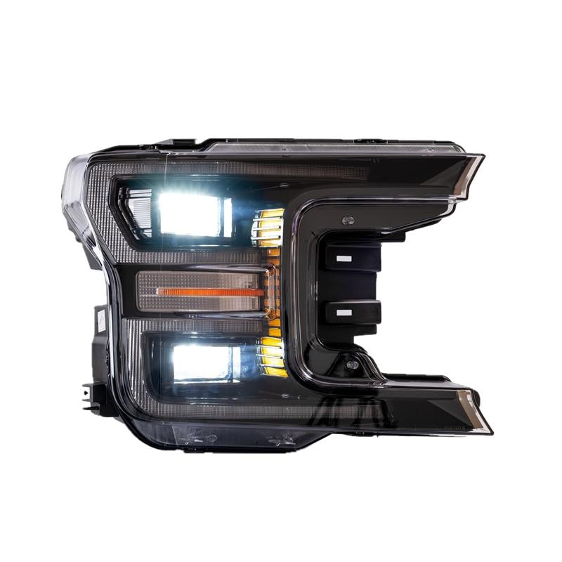 Vland Fábrica Acessórios Do Carro Head Lamp para Ford Raptor F150 2017 UP Completa LED Head Light com Indicador Seqüencial - 3