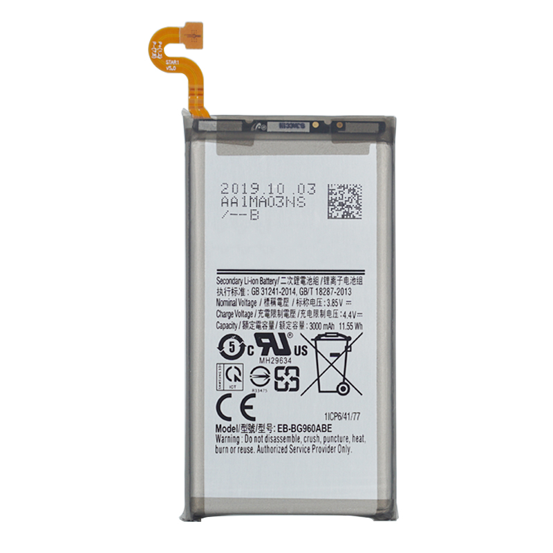 Original Replacement Battery For Samsung Galaxy <font><b>S9</b></font> <font><b>G9600</b></font> SM-G960F SM-G960 G960F G960 EB-BG960ABE 3000mAh Phone Battery + tools image