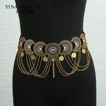 Jewelry Body-Waist-Chain Belly-Dance Belt Accessories Collocation-Skirt Women Fashion