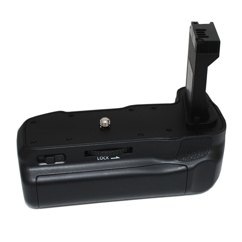 Professional Double Battery <font><b>Grip</b></font> Holder Pack Support Vertical Shooting for CANON EOS800D T7i X9i <font><b>77D</b></font> JHP-Best image